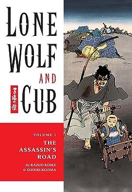 Lone Wolf and Cub Vol 1-4 Bundle