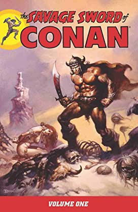 The Savage Sword of Conan Vol 1-3 Bundle