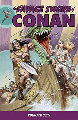 The Savage Sword of Conan Vol 10-12 Bundle
