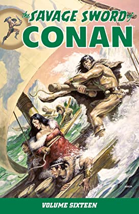 The Savage Sword of Conan Vol 16-18 Bundle