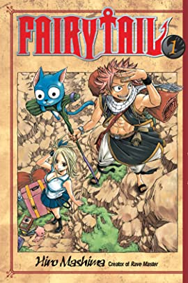 Fairy Tail Volumes 1 - 10 Bundle
