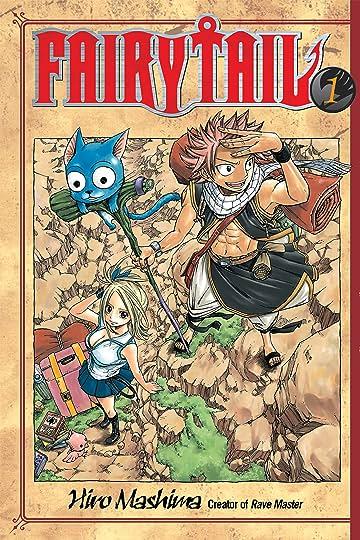 Fairy Tail Volumes 1 - 10 Bundle