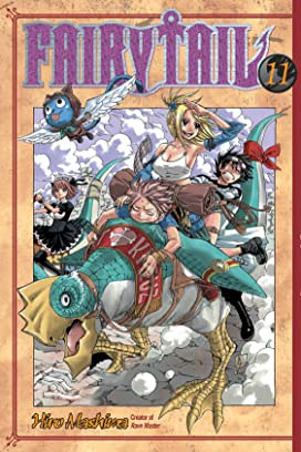 Fairy Tail Volumes 11 - 20 Bundle