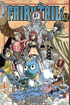 Fairy Tail Volumes 21 - 30 Bundle