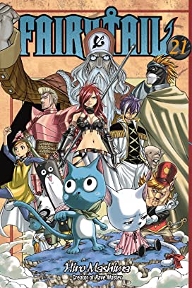 Fairy Tail Volumes 21 - 30 Bundle