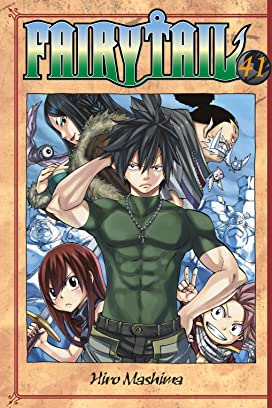 Fairy Tail Volumes 41 - 50 Bundle