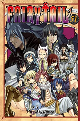 Fairy Tail Volumes 51 - 60 Bundle