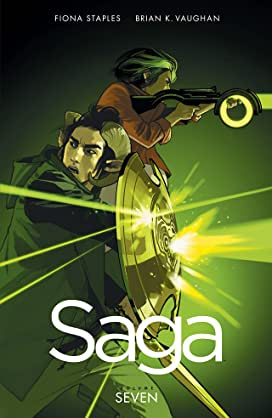 Saga Volumes 6, 7 and 8 Bundle