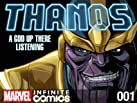 Thanos: A God Up There Listening Infinite Comic Bundle