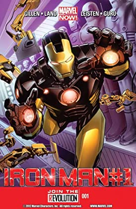 Iron Man by Kieron Gillen - The Complete Series