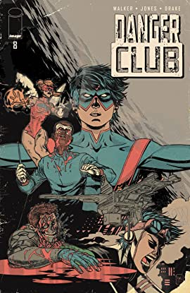Danger Club #8 Alternate Endings Bundle