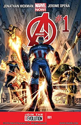 Avengers by Jonathan Hickman: The Complete Series