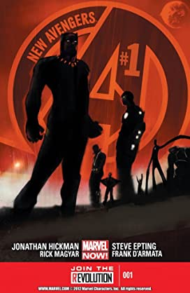 New Avengers by Jonathan Hickman: The Complete Series