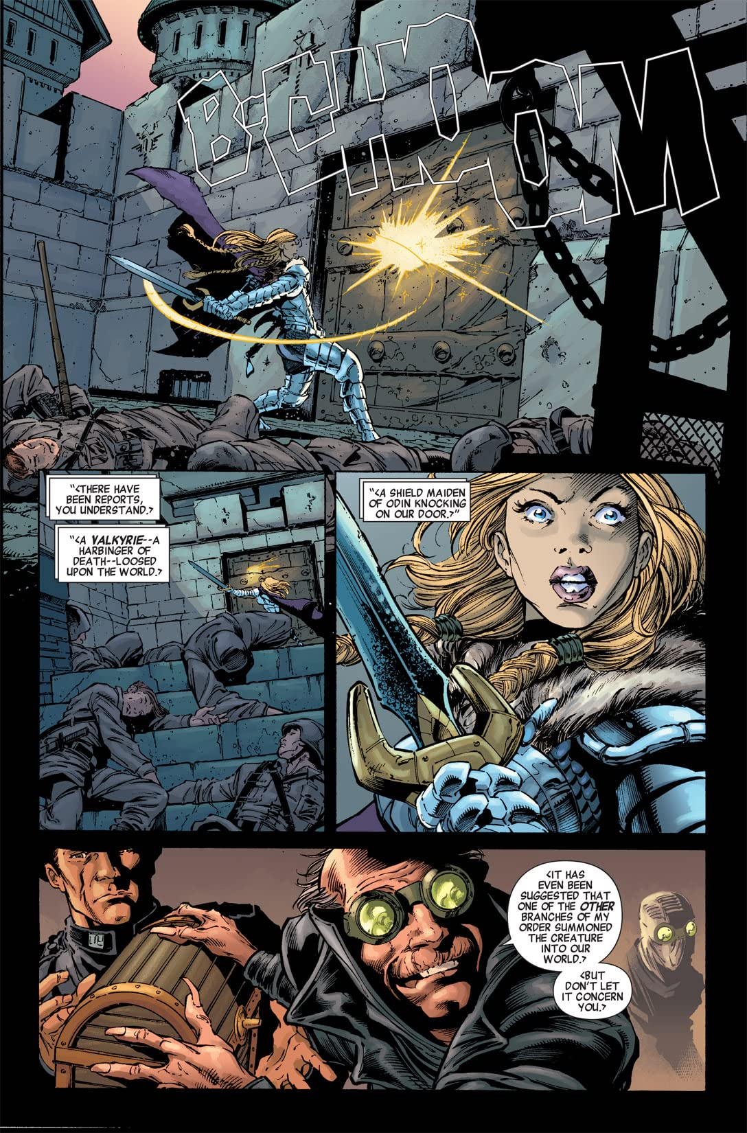 Fear Itself: The Fearless #3 (of 12)