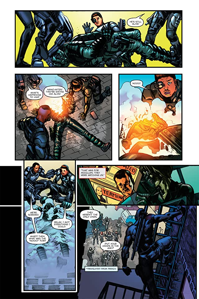 click for super-sized previews of G.I. Joe: The Rise of Cobra #4: Official Movie Adaptation