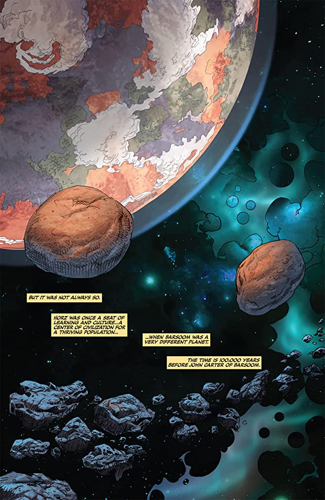 click for super-sized previews of Warlord of Mars: Fall of Barsoom #1 (of 5)