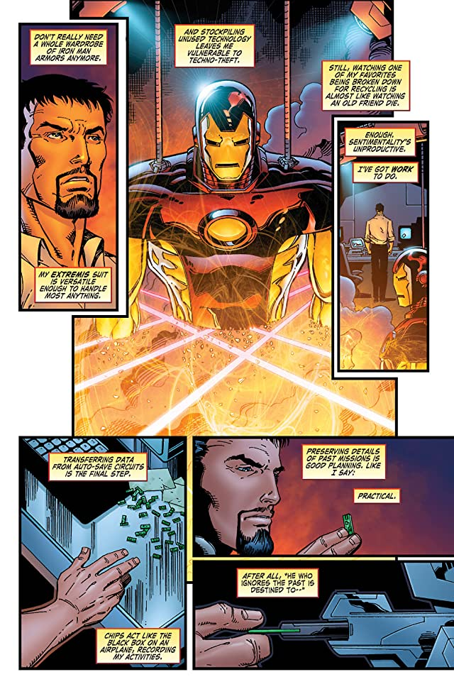 click for super-sized previews of Iron Man: Legacy of Doom #1
