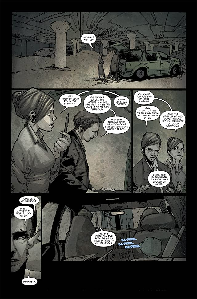 click for super-sized previews of 30 Days of Night: Spreading the Disease #1