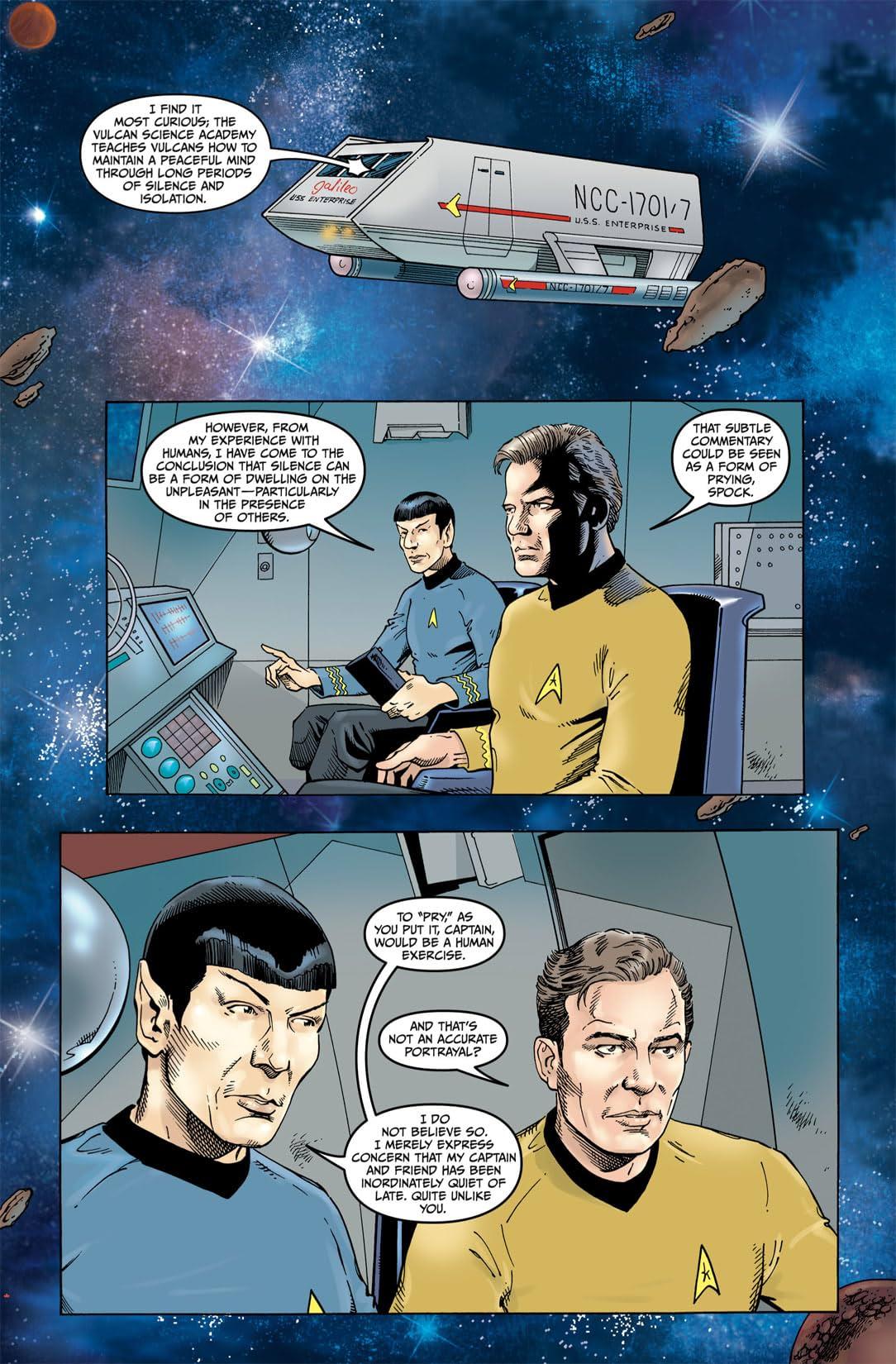 Star Trek: Year Four - The Enterprise Experiment #1
