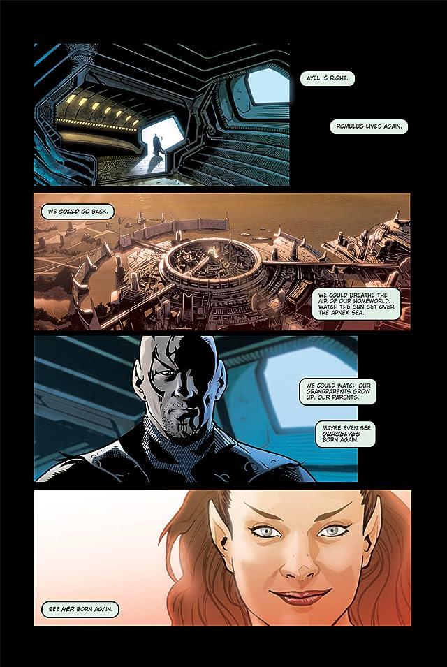 click for super-sized previews of Star Trek: Nero #1