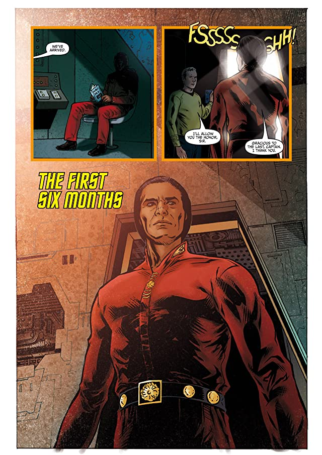 click for super-sized previews of Star Trek: Khan - Ruling in Hell #1