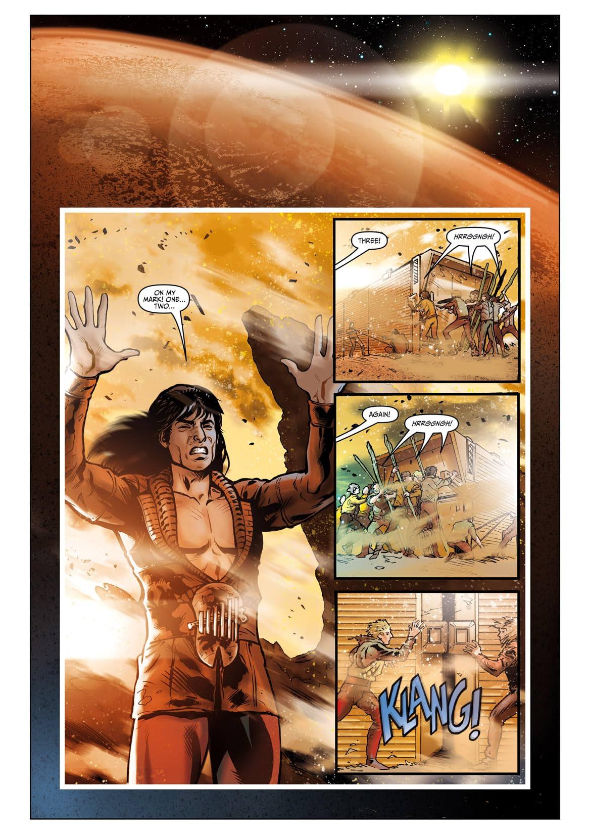 Star Trek: Khan - Ruling in Hell #3