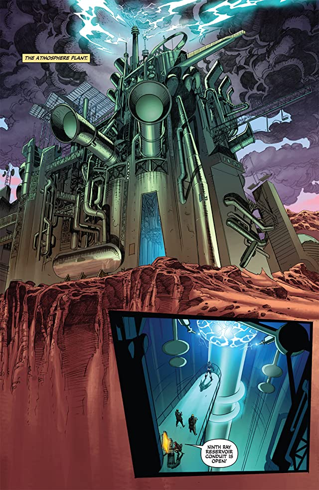 click for super-sized previews of Warlord of Mars: Fall of Barsoom #2
