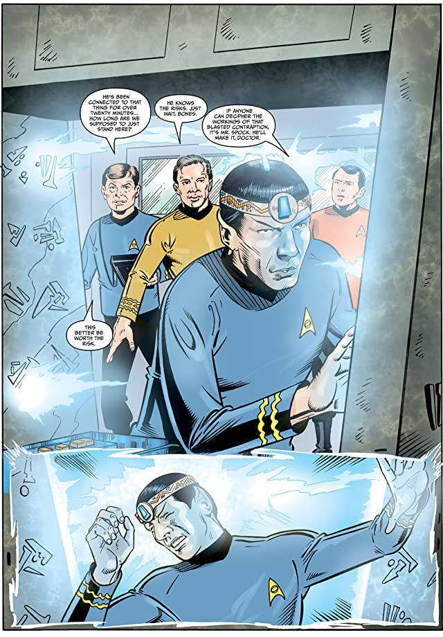 click for super-sized previews of Star Trek: Year Four - The Enterprise Experiment #5
