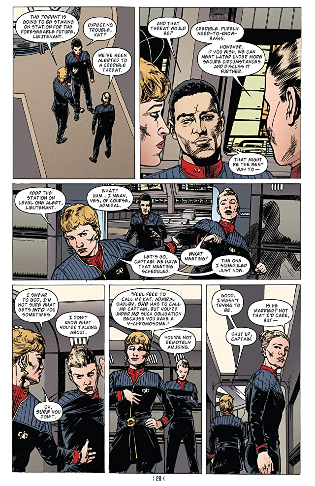 click for super-sized previews of Star Trek: New Frontier #2