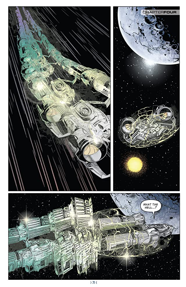 click for super-sized previews of Star Trek: New Frontier #4