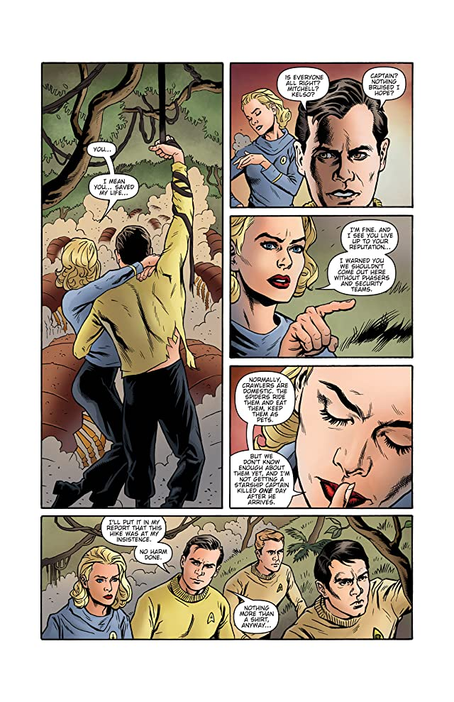 click for super-sized previews of Star Trek: Mission's End #1