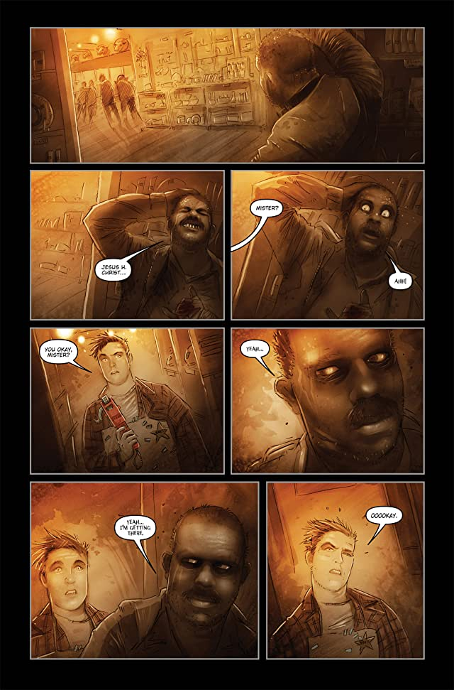 click for super-sized previews of 30 Days of Night: Eben and Stella #4
