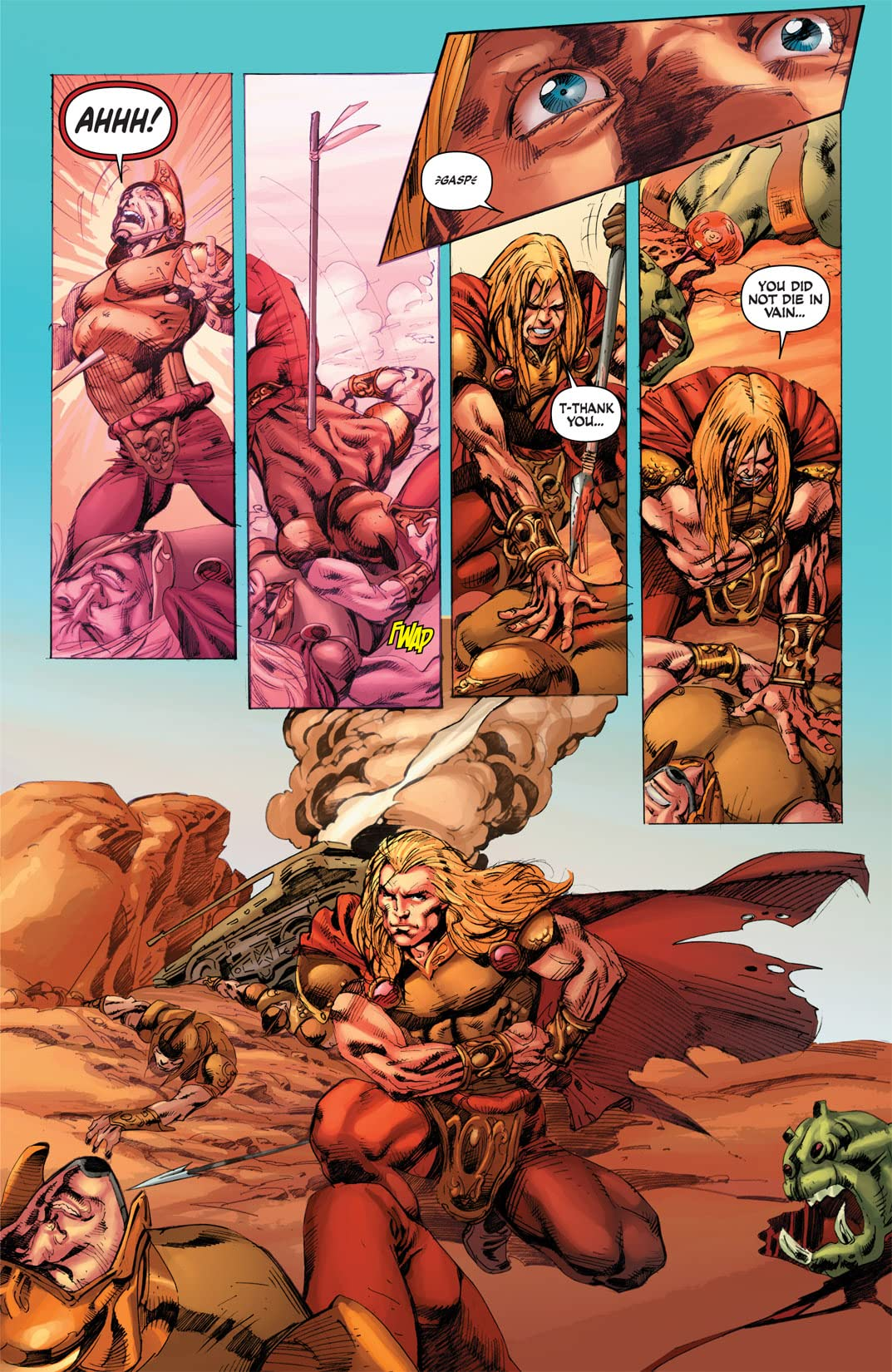 Warlord of Mars: Fall of Barsoom #3 (of 5)