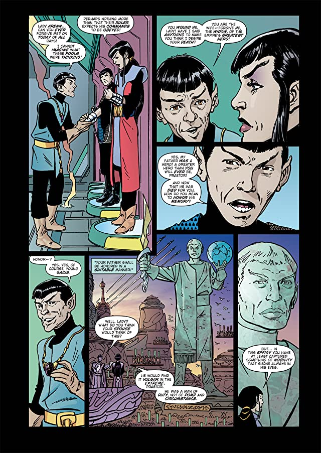 click for super-sized previews of Star Trek: Romulans - The Hollow Crown #1