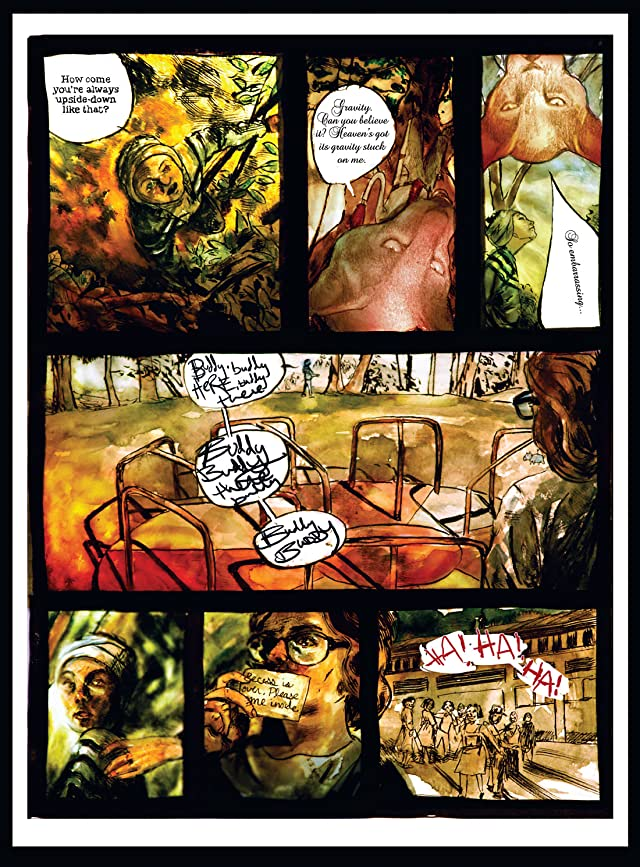 click for super-sized previews of The Boy Who Made Silence #5