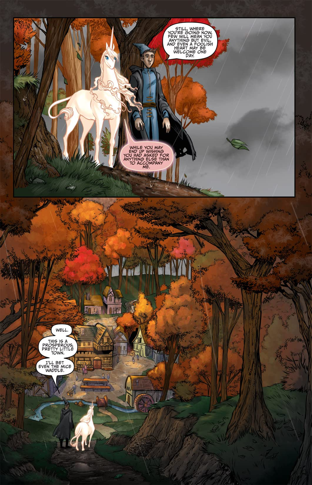 The Last Unicorn #3