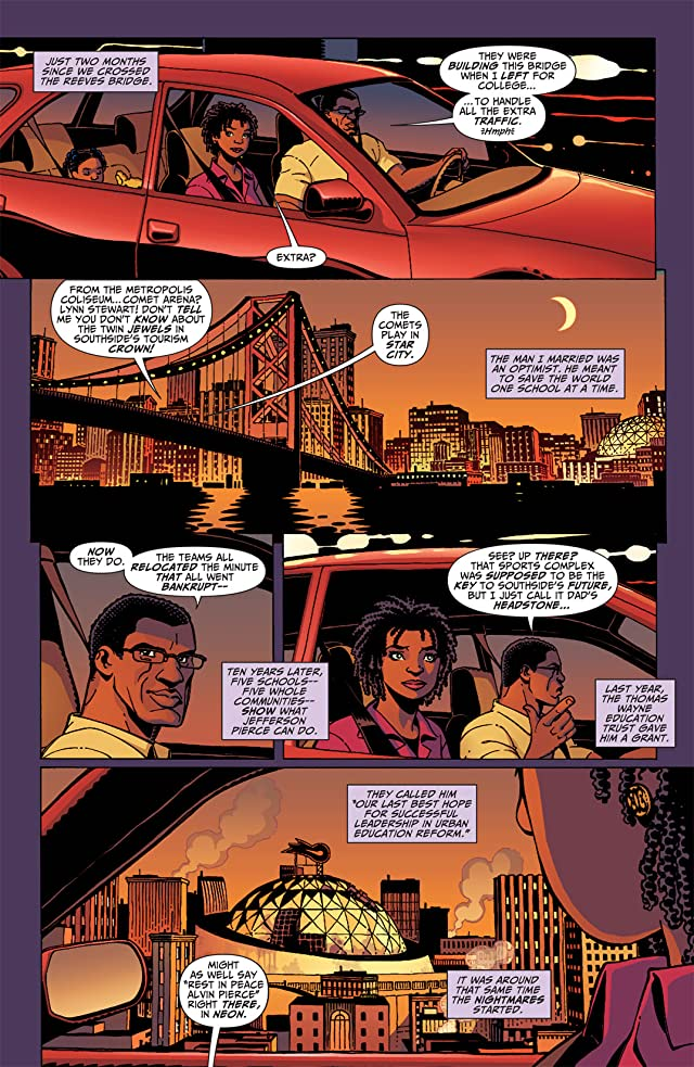 click for super-sized previews of Black Lightning: Year One #1
