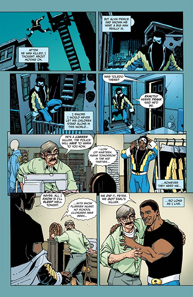 click for super-sized previews of Black Lightning: Year One #3