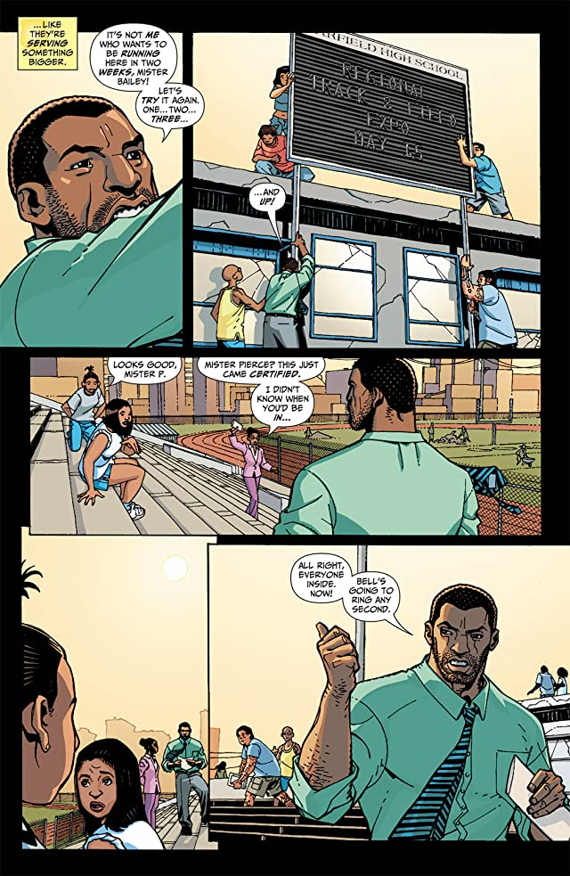 click for super-sized previews of Black Lightning: Year One #5