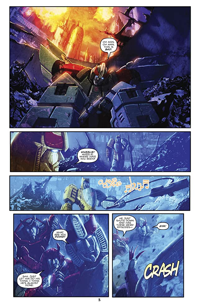 Transformers (2010-2011) #30