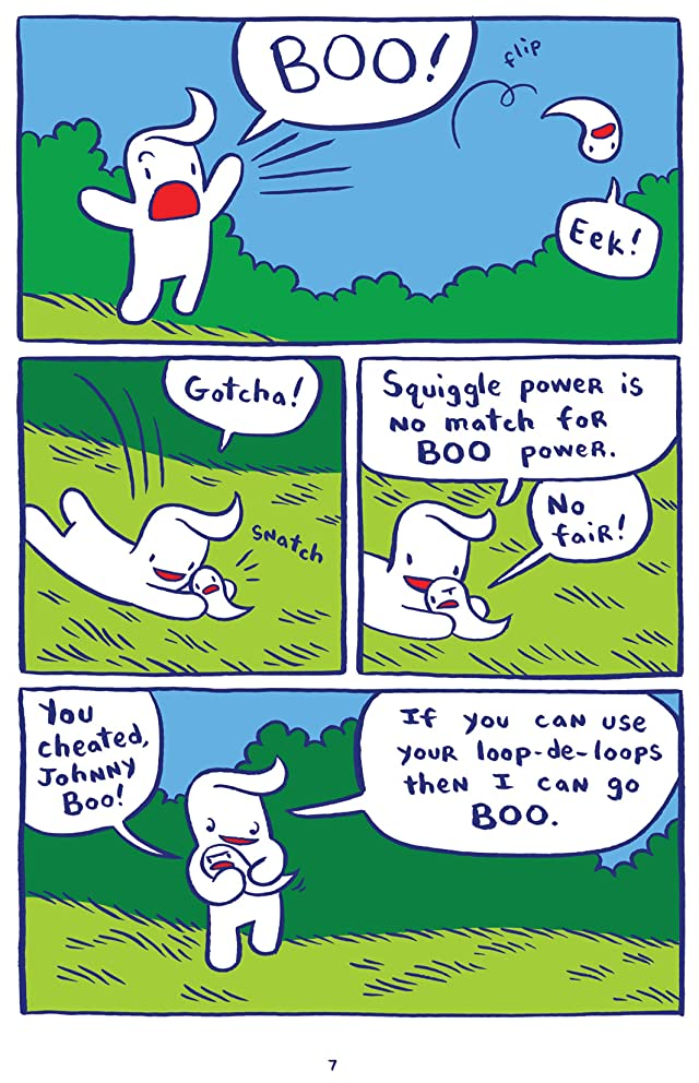 click for super-sized previews of Johnny Boo Vol. 1: Best Little Ghost in the World