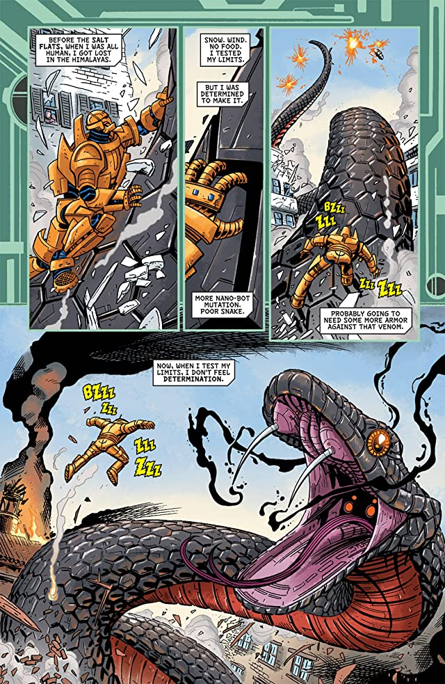 click for super-sized previews of My Greatest Adventure (2011-2012) #2 (of 6)