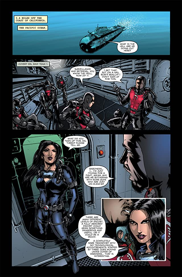 click for super-sized previews of G.I. Joe: Infestation #1 (of 2)
