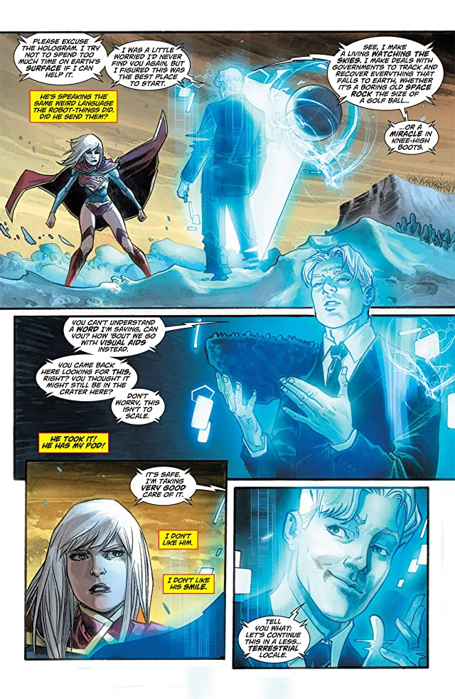 click for super-sized previews of Supergirl (2011-2015) #3