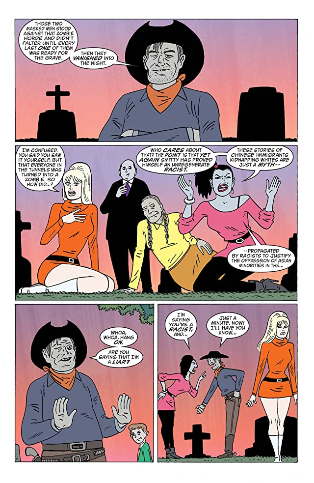 click for super-sized previews of iZombie #12
