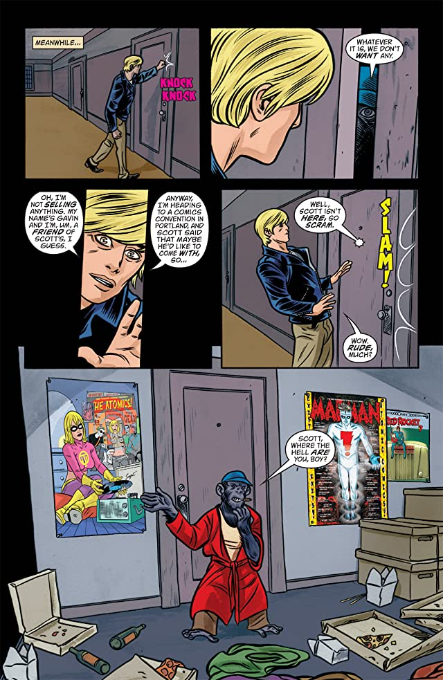 click for super-sized previews of iZombie #14