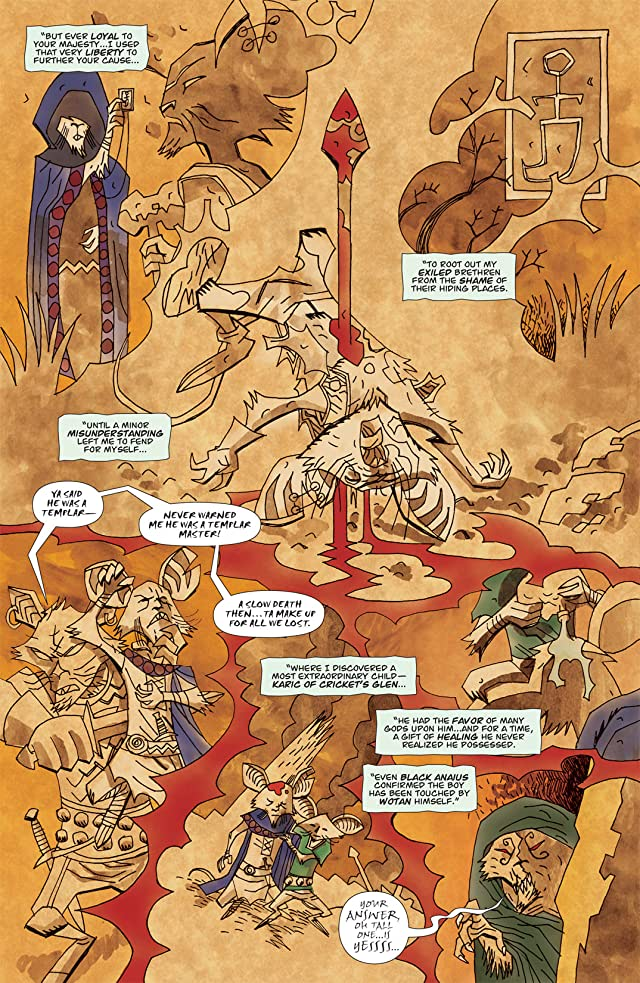 click for super-sized previews of The Mice Templar: Destiny #8