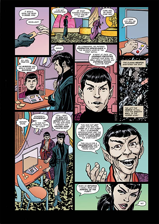 click for super-sized previews of Star Trek: Romulans - The Hollow Crown #2