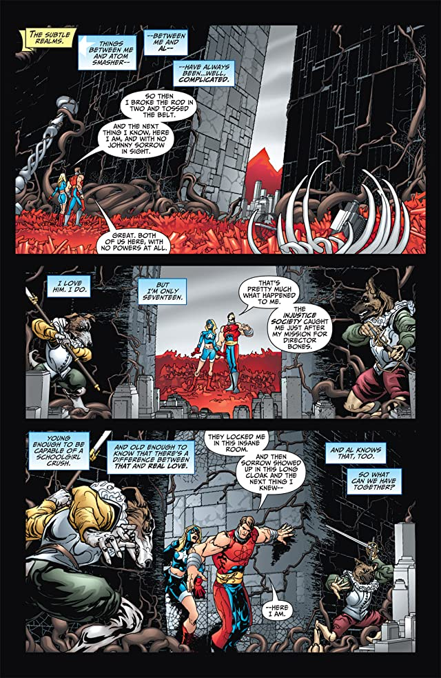 click for super-sized previews of JSA All-Stars #5