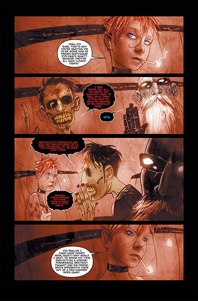 click for super-sized previews of Wormwood: Gentleman Corpse #1